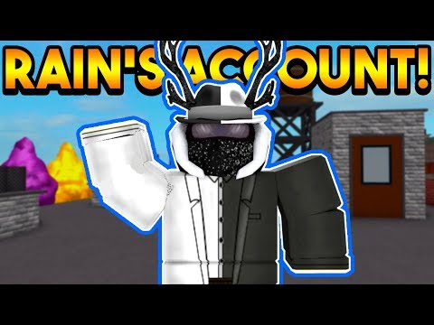 PLAYING ON RAINWAY'S ACCOUNT! (OP PSYCHIC!) | ROBLOX: Super
