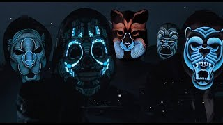 Звуковая реактивная светодиодная маска / Sound Reactive LED Mask / Новинки Наука и техника