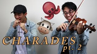TURTLE AND OCTOPUS SOUNDS ON THE VIOLIN (Violin Charades #2)