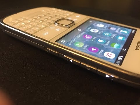 Nokia E6-00 is a smartphone running the Symbian Anna - Symbian business mobility solution from Nokia