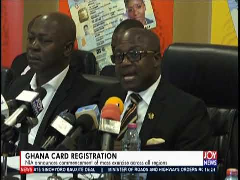 Ghana Card Registration - The Pulse on JoyNews (25-4-19)