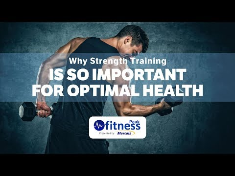 Why Strength Training Is So Important for Optimal Health