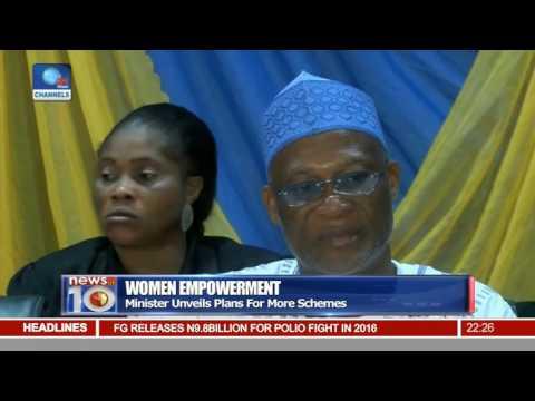 News@10: Minister Unveils Plans For More Women Empowerment Schemes 30/09/16 Pt 2