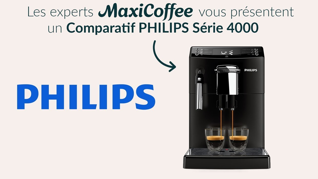 comparatif serie 4000 de philips machine caf. Black Bedroom Furniture Sets. Home Design Ideas