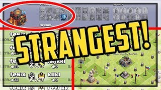 NEW! Strange BUT TRUE Players in Clash of Clans! | CoC |