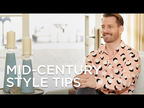 Mid-Century Modern Style Decorating Tips and Ideas from Lamps Plus
