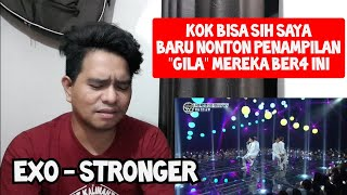 Guru Vocal Komentari EXO - STRONGER | LIVE (Reaction)