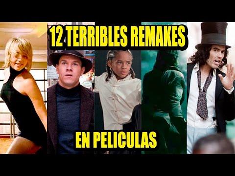 12 PEORES REMAKES EN EL CINE | Los 12 Más
