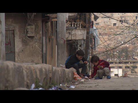 Syria: War-torn city