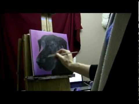 Acrylic Portrait Painting Youtube