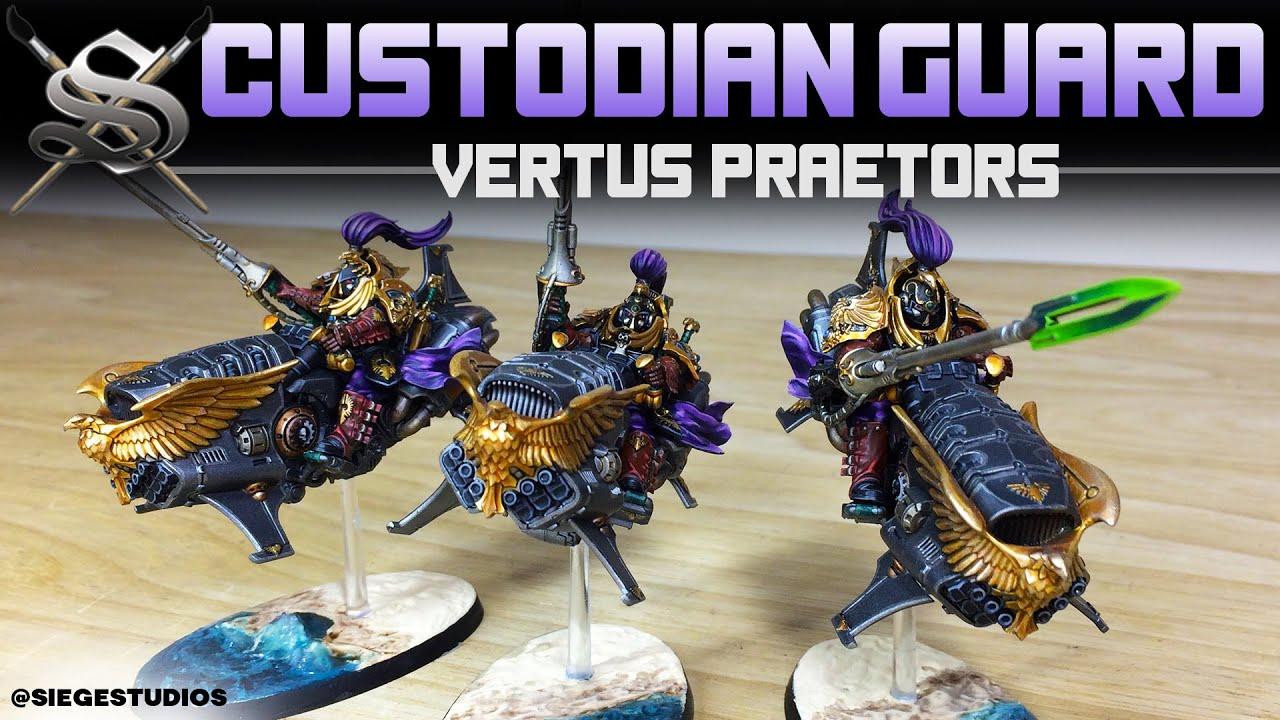 Vertus Praetors GW-01-12 Warhammer 40,000 Adeptus Custodes