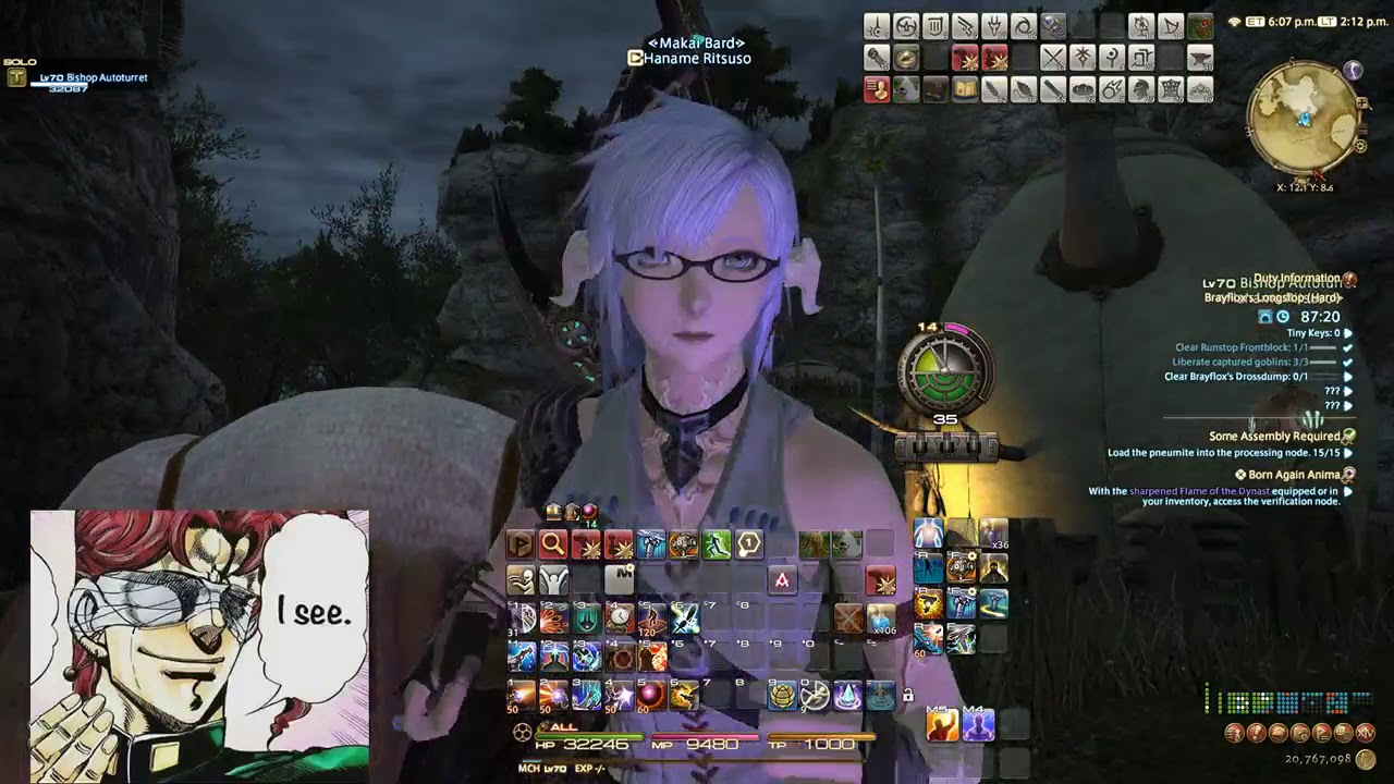 FFXIV 4 1 Solo light farm method for Anima weapon (Instructions in CC  subtitles)