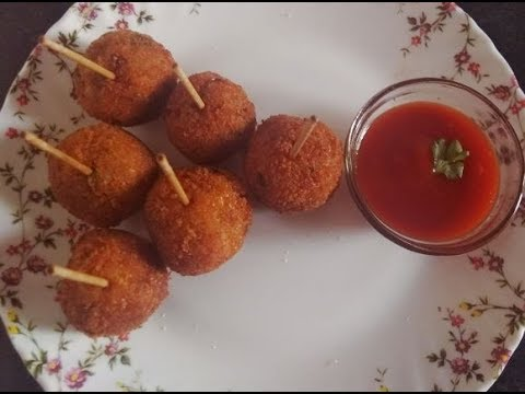 Potato Lollipop Recipe / Kids Party Snacks Recipe In Hindi BY RECIPES HUT