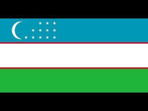 Как выглядит флаг узбекистана