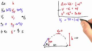 Solving for Final Velocity - Intro to Physics