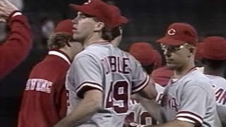 1990 NLCS Gm4: Dibble fans King to close out Game 4