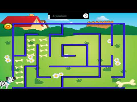 Educational Mazes For Kids Game Play Video | Vr Kids