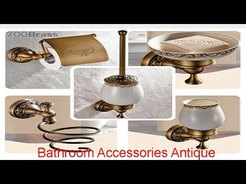 Bathroom Accessories Antique Brass Collection Review