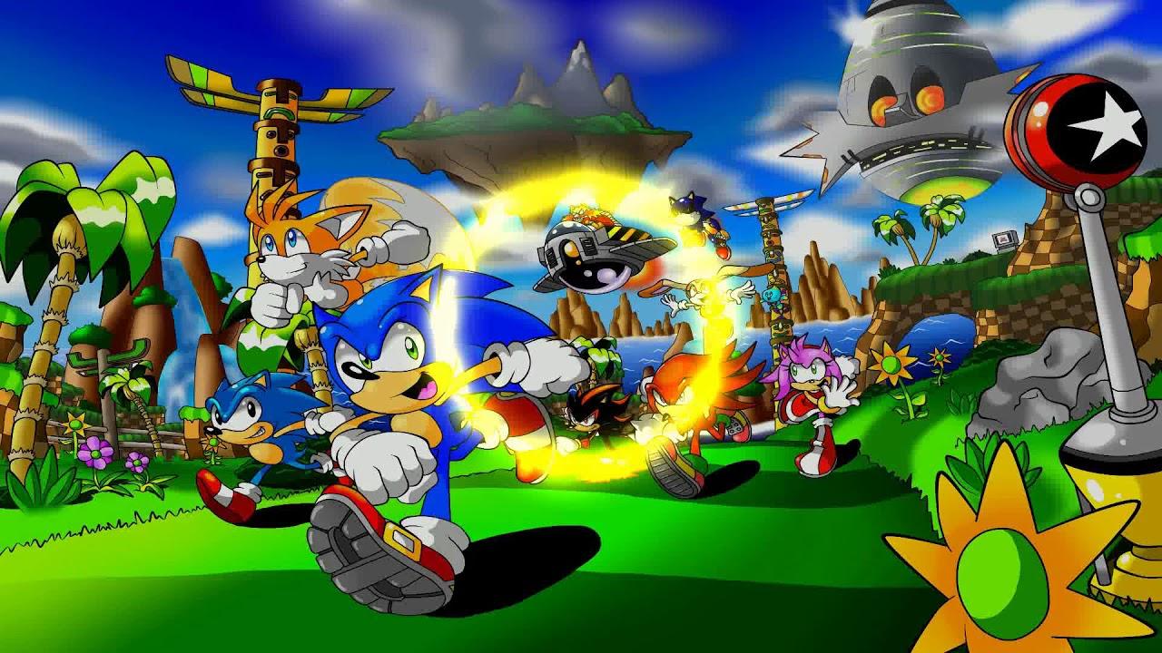 ColBreakz - Gold Ring (Sonic & Megaman Dubstep Remix)