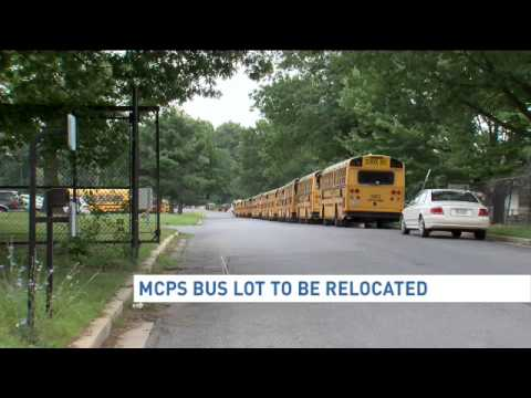 MCPS school bus depot will be relocated