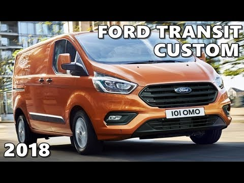 ford transit custom 2018 driving exterior interior. Black Bedroom Furniture Sets. Home Design Ideas