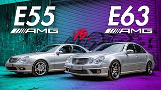 Mercedes Benz W211 E55 AMG vs. E63 AMG | RB Engineering
