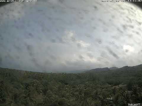 20/7/2018 - Mt Ambae (Aoba) Time Lapse