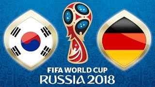 Fussball WM 2018 · Südkorea - Deutschland · 27.06.2018 · Kasan · Lets Play Fifa 18 WM PS4 #41