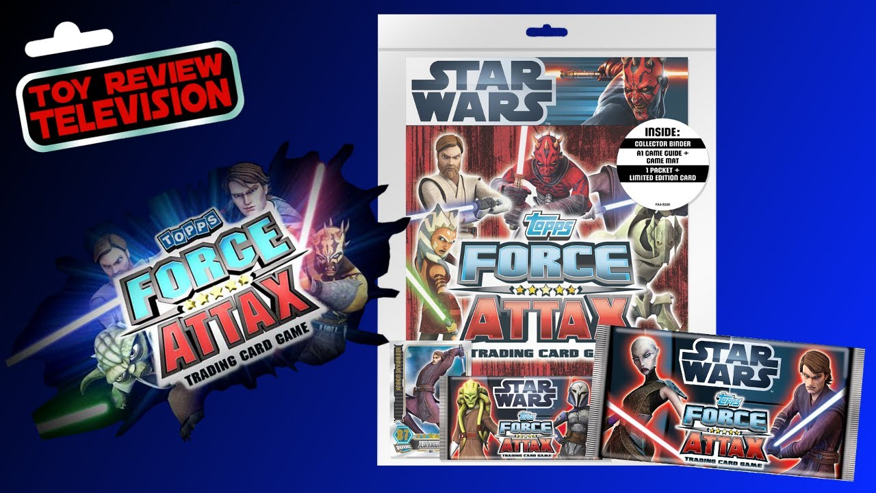 Star Wars Force Attax Movie Edition Series 3 Cards 1-41