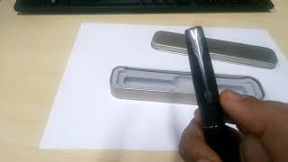 Parker Frontier Matte Black CT fountain pen unboxing and review