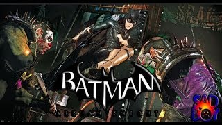 Batman Arkhan Knight- Trying To Play With Batgirl- AR Challenge