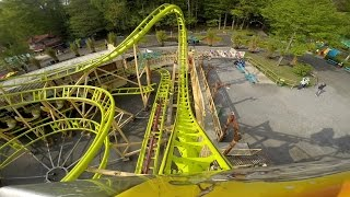 Cobra - Lost Kingdom Coaster Onride (FULL HD) - Freizeit-Land Geiselwind