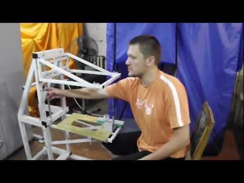 Печать на шарах в домашних условиях. Ручной принтер РПШ-03 Сlip 006