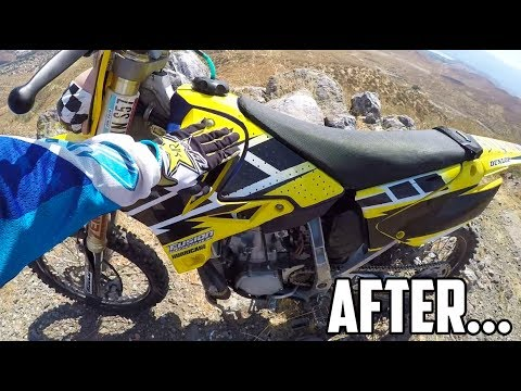 RESTORING CLAPPED OUT YZ250!