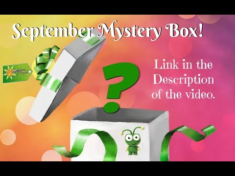 Cricut September Mystery Box 2017 Reveal Unboxing
