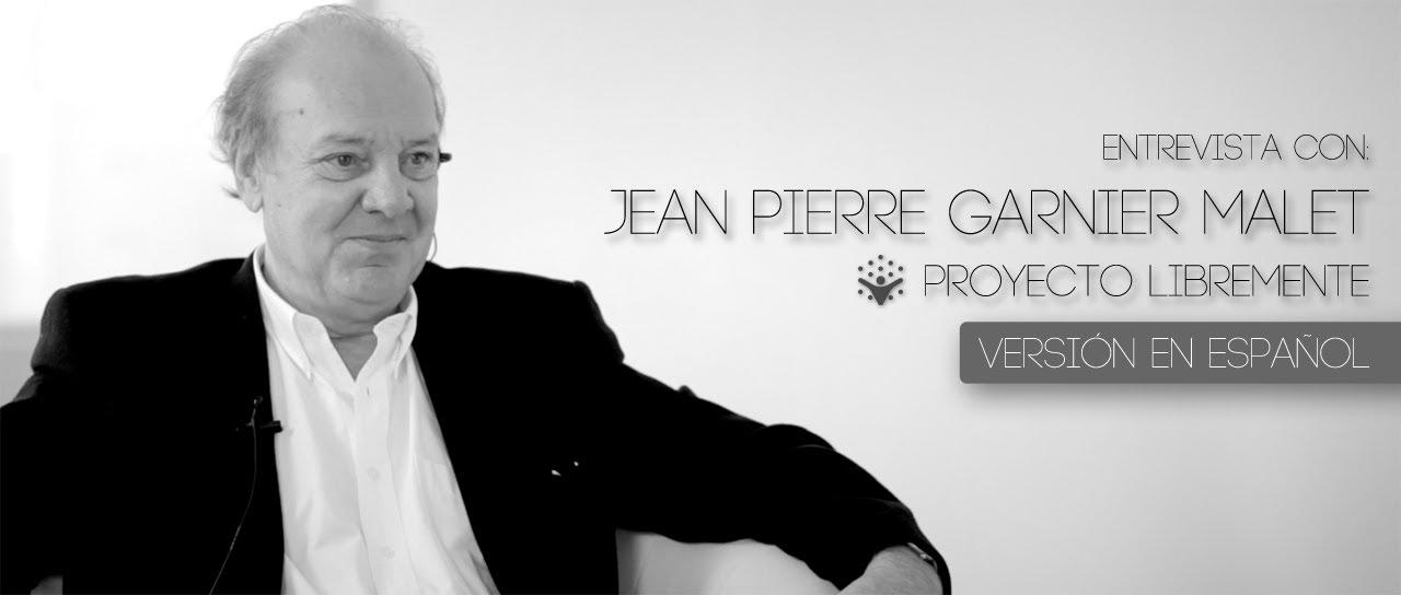 Jean Pierre Garnier Malet | El desdoblamiento del tiempo - Entrevista de Proyecto LibreMente