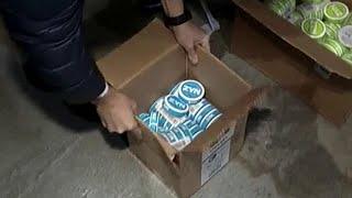 Смотреть видео В Москве полицейские изъяли более 4000 упаковок контрафактного снюса. онлайн
