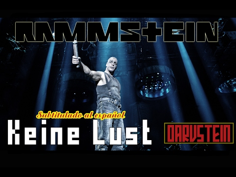 Rammstein - Keine Lust (Subtitulado al Español) (Live 2012)