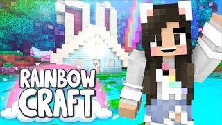 💙 Building a Bunny House! Rainbowcraft Ep. 4