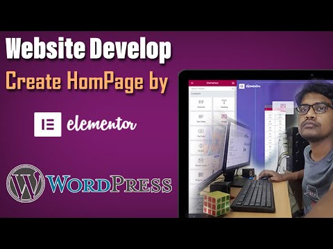 How to create Homepage of WordPress Website with Elementor Website Build...