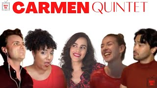 Carmen Quintet by Bizet (Virtual Opera)