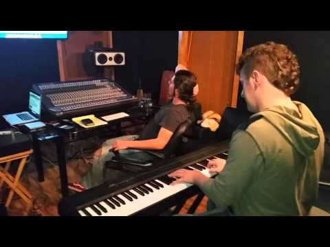 Writing music for a local movie production in Austin, Texas.