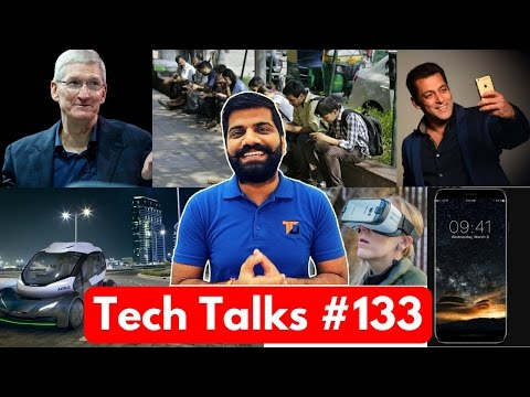 Tech Talks #133 - Salman Khan Phone, OnePlus Crorepati, AirBus Modular Car, Potato on Mars