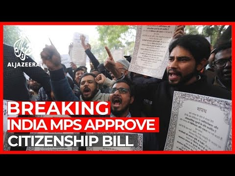 India's Parliament approves contentious citizenship bill