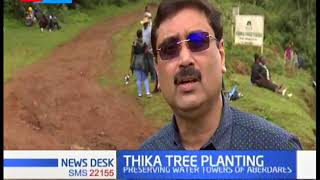 Tree planting on over 1000 hectares of Kimakia forest underway in bid to increase forest cover