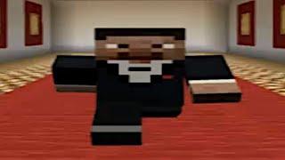 Wide Minecraft Steve Walking Meme