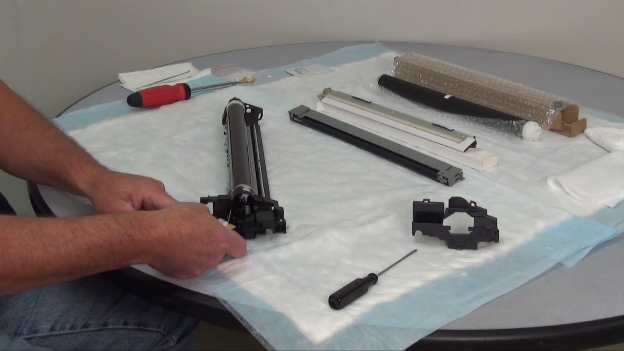 Kyocera 1800-series Drum Unit Rebuild Instruction Video by Katun Corporation