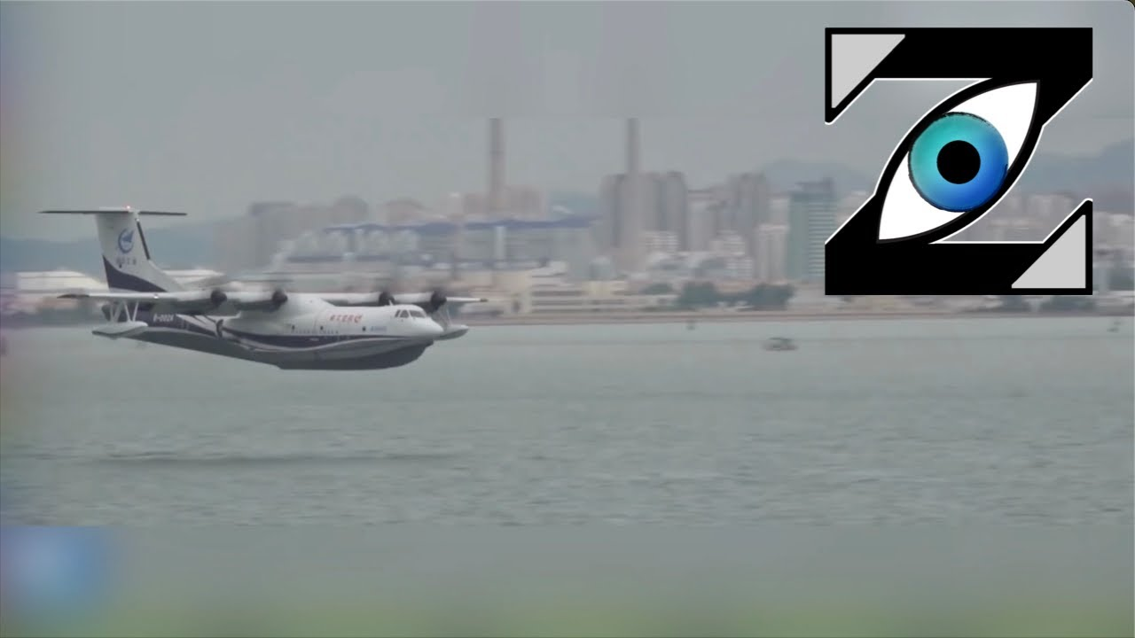Download [Zap Net] Le plus gros avion amphibie du monde ! (05/03/21)