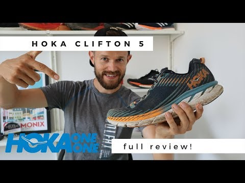 Hoka One One Clifton 5 Review - Best All Round Running Shoe EVER??