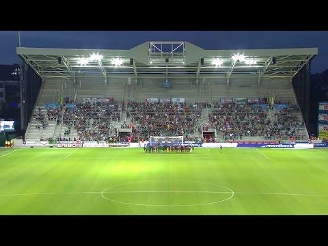 Timelapse Regenboogstadion tribune B